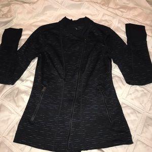 Zella mock zip up workout jacket-like new!!
